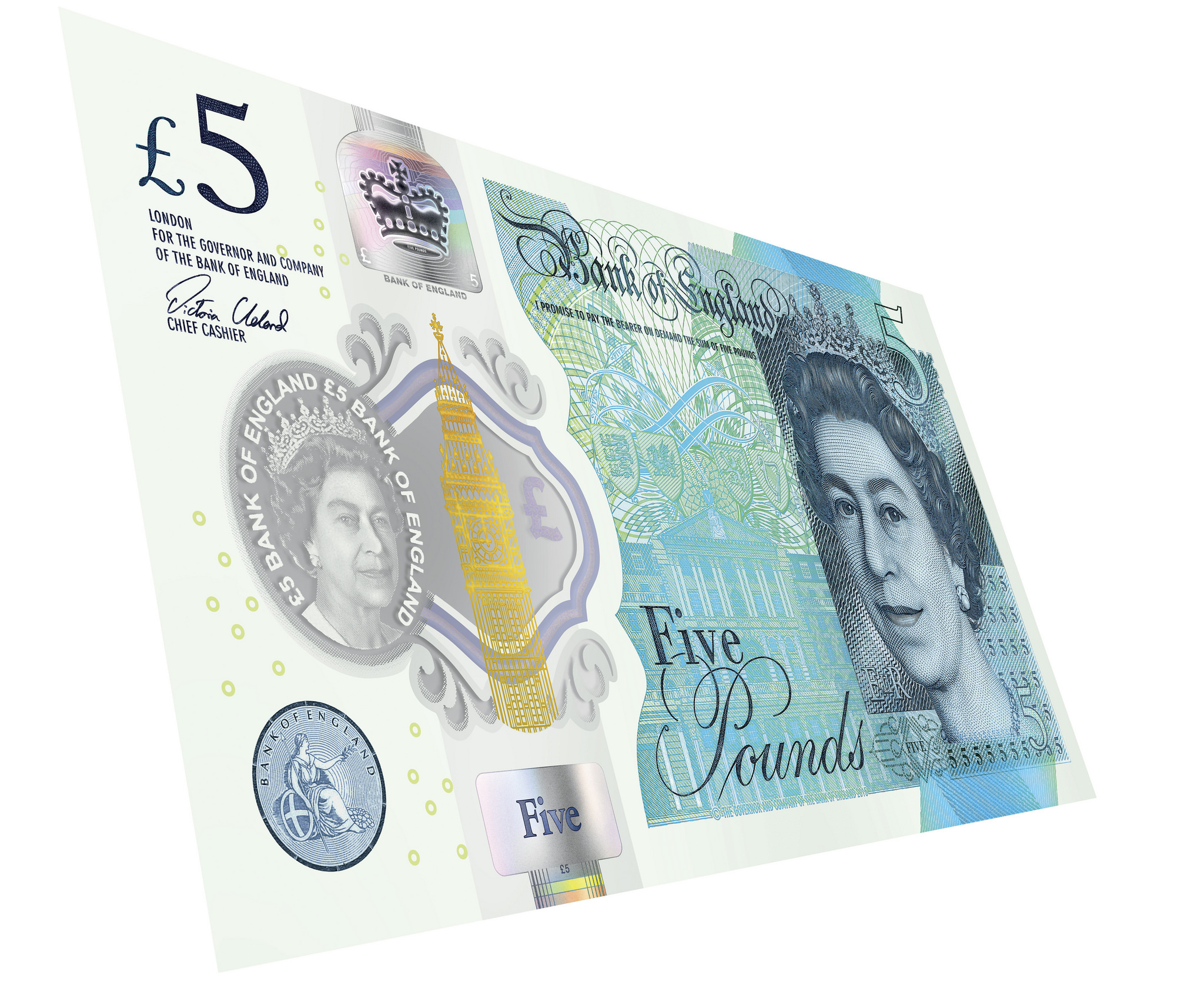 Just a week left to spend your old paper five pound notes