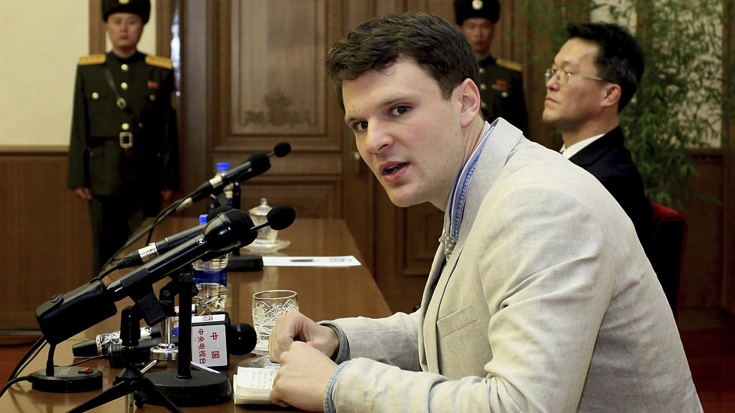 North Korea releases U.S.  citizen Otto Warmbier