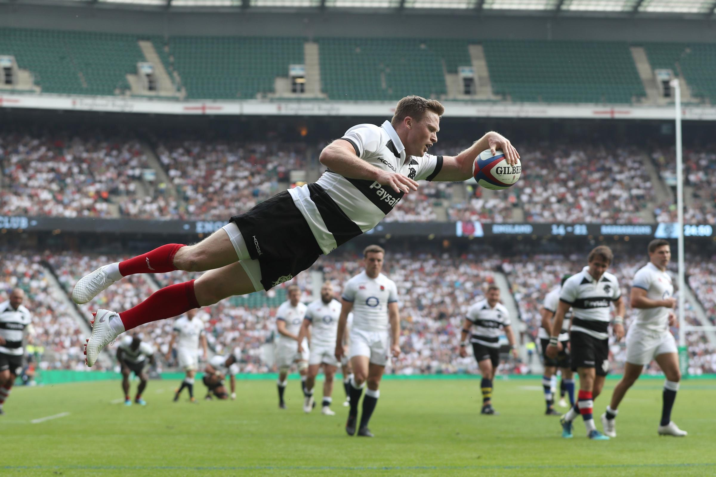 Wiganer Chris Ashton has new hopes of reviving England career