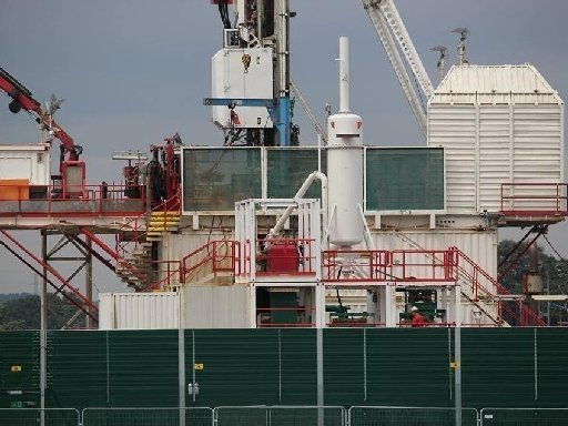 Protests as fracking begins in UK